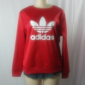 ADIDAS ORIGINALS | Satin Crewneck Sweatshirt